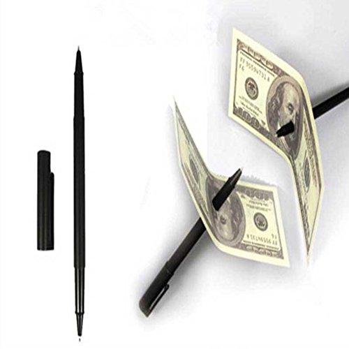 shyymaoyi The Magic Trick Pen Nahaufnahme Magic Pen Penetration durch Papier Dollar Bill Trick Requisiten Multi