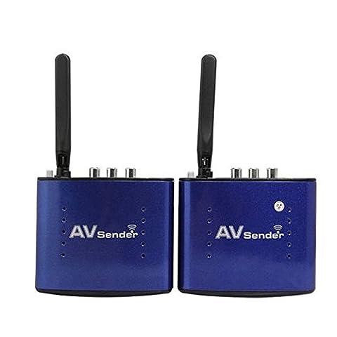 Signstek 5.8GHZ 8-Ch 200m Wireless AV Sender Transmitter Receiver Audio Vedio SD TV Extender without IR Remote Function(UK Plug)