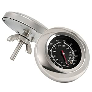 BBQ-Toro Grillthermometer bis über 400 °C, Thermometer für