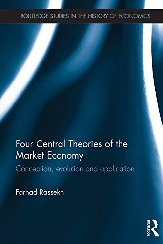 Four Central Theories of the Market Economy: Conception, evolution and application (Routledge Studies in the History of Economics) (English Edition)