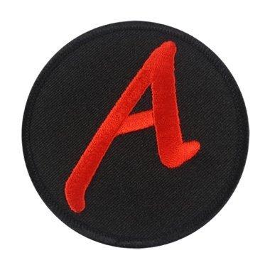 Dawkins A für Atheist bestickt Patch-7,6cm Durchmesser