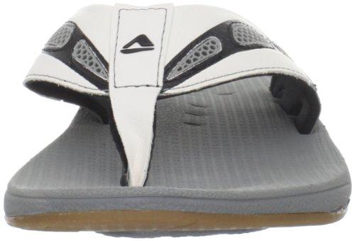 Reef Reef X-S-1, Tongs homme Gris (Grey/white)