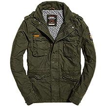 Superdry Classic Rookie Military Jacket, Abrigo para Hombre