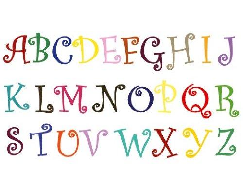 Wandtattoo No.KS2 Magical Alphabet ABC Alphabet Zeichen Buchstaben Schule
