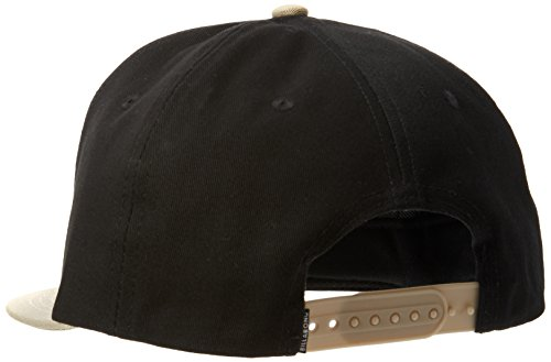 Billabong Herren Rotor Snap Back Head Wear U Schwarz/Braun