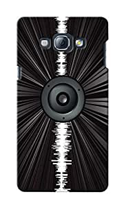 CimaCase Music Speaker Designer 3D Printed Case Cover For Samsung Galaxy A8