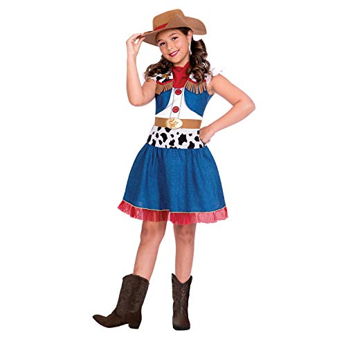Amscan International- Cowgirl Cutie 4-6 Years Disfraz, Color (9904662)