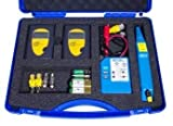 KURTH KE6701 Leitungssucher und LAN-Test Kit im Geraetekoffer bestehend aus KE701 ohne Schutztasche und 2x KE6000 incl. Batterien