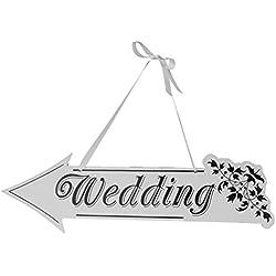 Flecha dirección Wedding De Estilo Vintage Decoracion