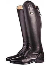 HKM - botas de equitación para niños - Valencia, longitud estándar / - ancho negro Talla:Schuhgrösse 40