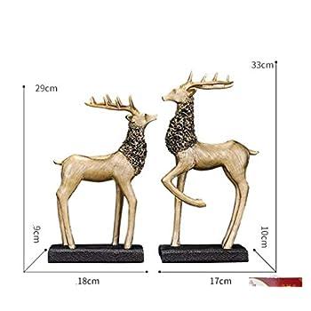 Vitrine décoration décoration création maison maison personnage européen artisanat Chambre de télévision salon , Fu Lu Shuang - yu
