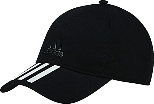 adidas 6P 3S CLMLT Cap Berretto da tenis per Uomo, Nero (Nero / Bianco / Nero), OSFY