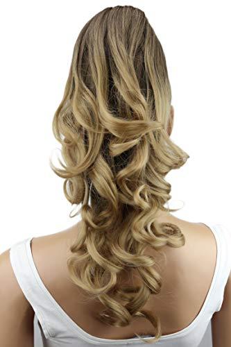PRETTYSHOP Haarteil Hair Piece Zopf Pferdeschwanz Voluminös ca.50cm Hitzebeständig ombre braun blond #8T25 H143