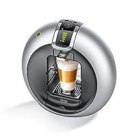 DeLonghi EDG 606.S Nescafé Dolce Gusto Circolo Kaffeekapselmaschine (1500 Watt, automatisch) silber