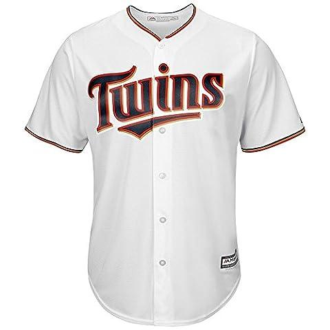 Majestic Athletic MLB Minnesota Twins Cool Base Home Jersey Medium