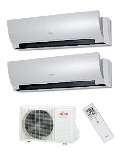 Aire acondicionado/climatizador multisplit inverter pared fujitsu-general-fuji 14000BTU con internos 9000+ presión 12000BTU...