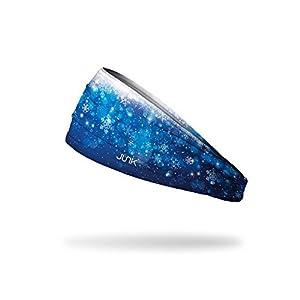 JUNK Brands Stirnband Die Eiskönigin Wonderland Big Bang Lite, Blau/Weiß, Einheitsgröße