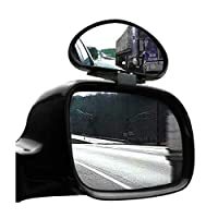 Nrpfell 2 X Dead Angles Mirrors Adjustable Wide Angle for Car Van Towing