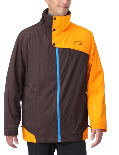 Oxbow - Giacca da sci e snowboard Racky, uomo, Marrone (ICED COFFEE), m ICED COFFEE