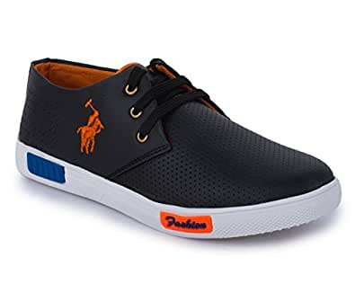 TRASE Pride Black Kids/Boys Casual Shoes-2C IND/UK