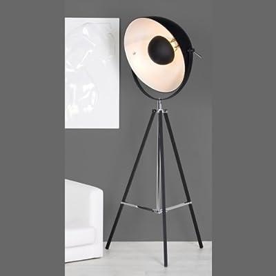 DESIGN STEHLAMPE PLANET STUDIO von XTRADEFACTORY Büro Stehleuchte Loft Beleuchtung Strahler schwarz von XTRADEFACTORY GMBH bei Lampenhans.de