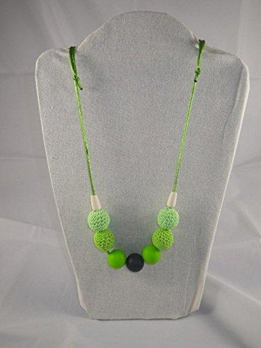 Collier de portage/allaitement vert