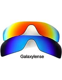 Galaxis Ersatzgläser für OAKLEY Offshoot Sonnenbrille Schwarz & Titan & grün PvRrA7