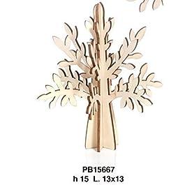 Albero della vita in legno NATURALE componibile da 15 cm BOMBONIERA