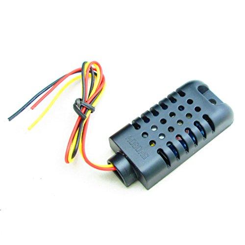 ULIAN Modules/capteurs Arduimo accessonries pour capteur d'humidité numérique capacitif Arduino AM2301 - Noir (3.3 ~ 5.5V)