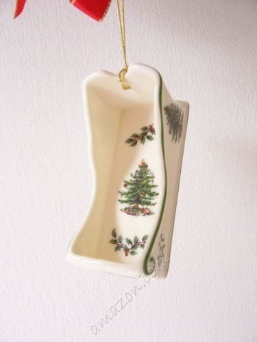 Spode Christmas Ornamente (Spode Christmas Tree Sleigh Ornament by Spode)