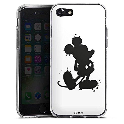 Apple iPhone X Silikon Hülle Case Schutzhülle Disney Mickey Mouse Geschenke Silikon Case transparent