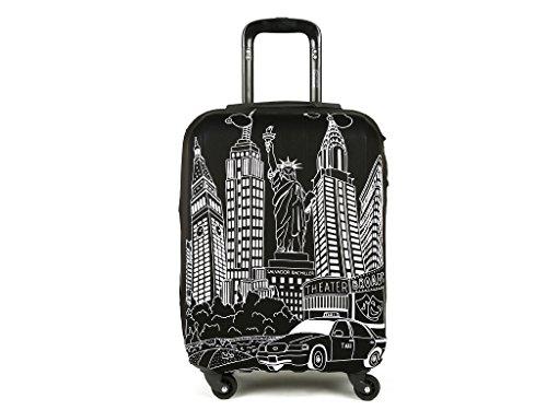 Salvador Bachiller - Funda De Maleta Universal New York Compl Viaj Lg1602 Negro M