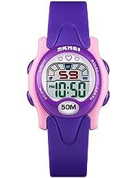 3cbd91f1308d Amazon.es  Calendario - Relojes de pulsera   Niña  Relojes