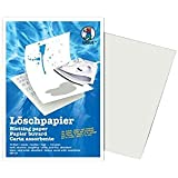 URSUS Pqt de 10 Papier buvard format A5 135g Blanc