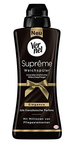 Vernel Suprême Weichspüler Elégance Flasche, 1er Pack (1 x 24 Waschladungen)
