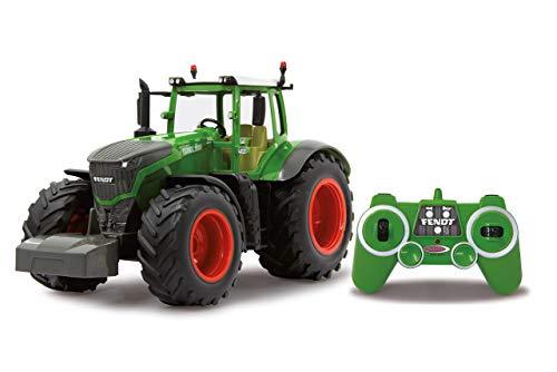 Jamara 405035 - Fendt 1050 Vario 1:16 2,4Ghz - RC Traktor, Motorsound (abschaltbar), Rückfahrwarnsound, Hupe, Abschaltfunktion, 2 Radantrieb, Gummireifen, Helle LED\'s vorne, Blinker, Demo Funktion