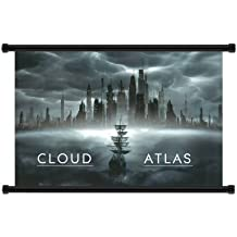 "Cloud Atlas (2012) película tela Wall Scroll Poster (32""x 42)"