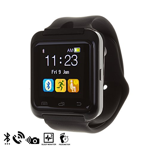 DAM, U80 Bluetooth Watch, Nero