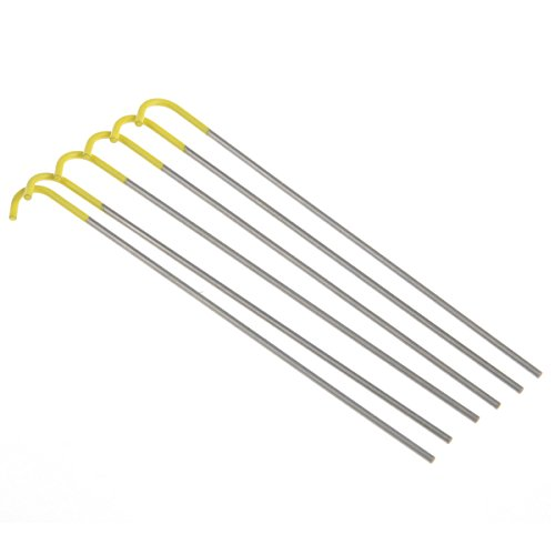 Titane Ultralight Mini Piquet Tente Camping Peg Lot de 6