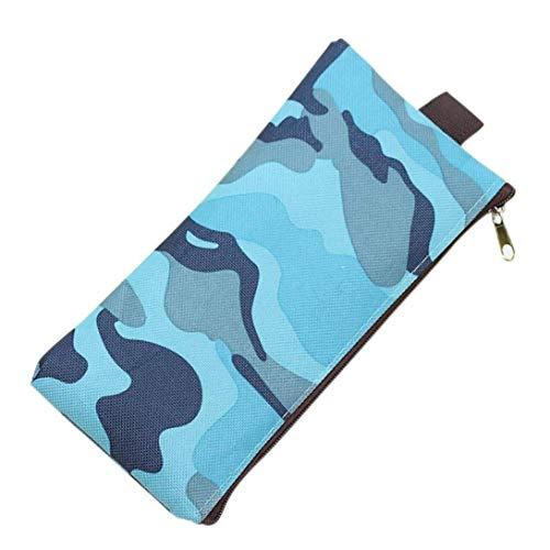 (Gaddrt Federmäppchen für Jungen und Mädchen, Camouflage, für Schulbedarf, Mini-Tasche, trendig S)