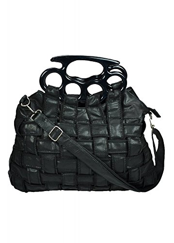 poizen-industries-jade-knuckleduster-latticed-handbag-black-faux-leather-one-size