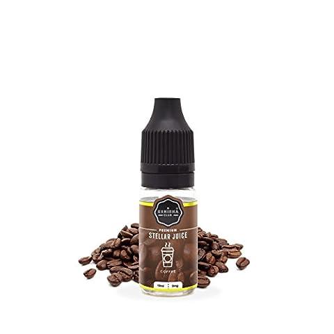 KNUQO STELLAR Juice 10ml - Kaffee-Geschmack   e-Zigarette   Wiederaufladbare Elektronische Zigarette Liquid   Nikotinfrei   e Shisha   eShisha