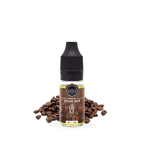 KNUQO E-liquid STELLAR Juice 10ml - Kaffee-Geschmack | e-Zigarette | Wiederaufladbare Elektronische Zigarette Liquid | e Shisha | Nikotinfrei