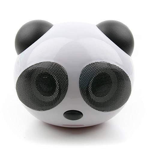 DURAGADGET Altavoz con diseño de Oso Panda para Tablet DELL Latitude 7285,...