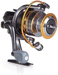 Lixada 8 BB roulement à bille /moulinet de pêche mains droite/gauche interchangeable /poignée pliable moulinet spinning ST5000 5.1:1