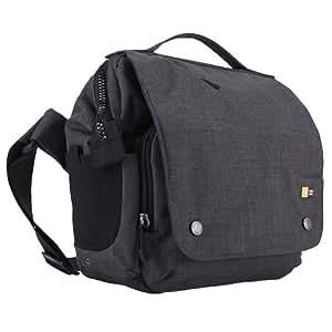 Case Logic FLXM101GY Sac besace en polyester/nylon pour Appareil photo réflex/PC Taille S Gris