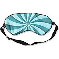 Blue Rotating Stripes 99% Eyeshade Blinders Sleeping Eye Patch Eye Mask Blindfold For Travel Insomnia Meditation preisvergleich bei billige-tabletten.eu
