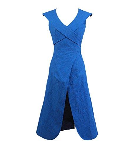 Robe de déguisement Daenerys Targaryen de la série Game of Thrones - Bleu - petit