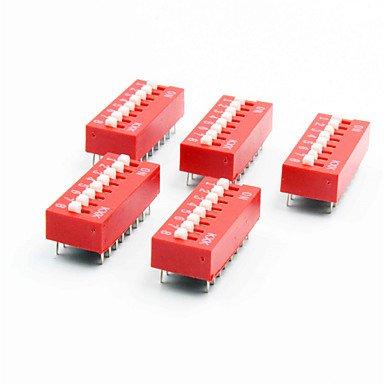Para Kits Arduino diy 8 posiciones 16 pines interruptores