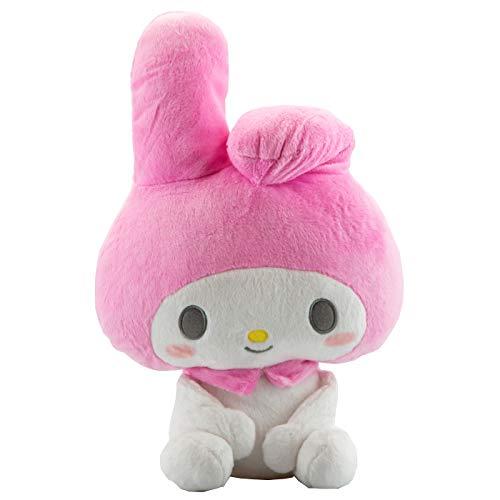 My Melody standart Stuffed weiß rosa Ohren Hello Kittys Friends Plüsch weiß rosa pink 30 x 30 x 20cm Plüschtier Plüschfigur Plüschi XXL Kuscheltier Weihnacht Geschenk Idee